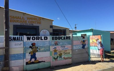 8. Small World Educare Centre, Asanda Village: Small world but big challenges